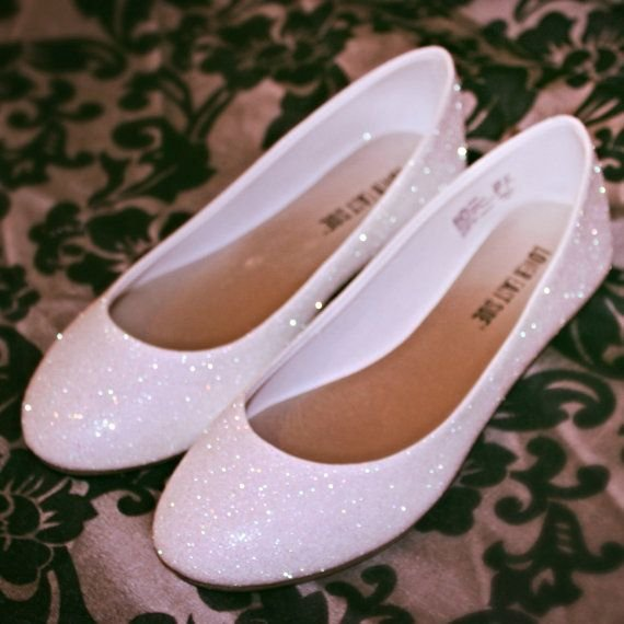 ec34ef1685 Balerínky sú takými svadobnými papučkami a nik vám to nebude mať za zlé