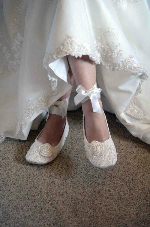 93688ca13b4f Balerínky sú takými svadobnými papučkami a nik vám to nebude mať za zlé