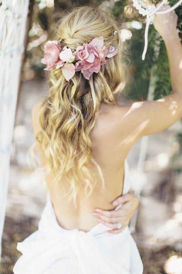 8164405a3d75 Svadobné účesy z rozpustených vlasov - časopis SVADBA